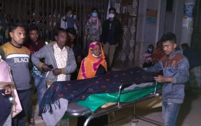 Fire spread out at Cox's Bazar Sadar Hospital: A refugee patient dies