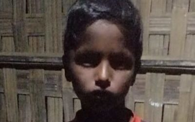 A young child was found in Kutupalong camp 5