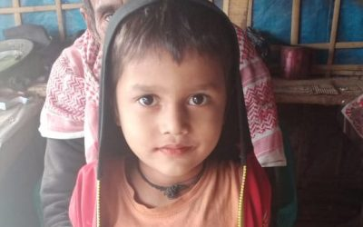 A child was found in Kutupalong camp 3.