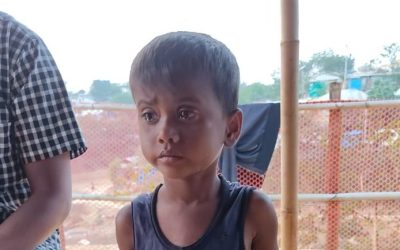 A young child was found in Kutupalong camp 20.