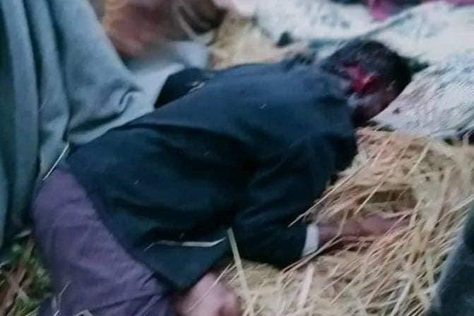 A Rohingya man butchered in Rakhine State