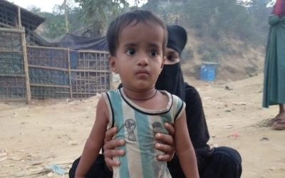 A young child was found in camp 12 block g 13 missing