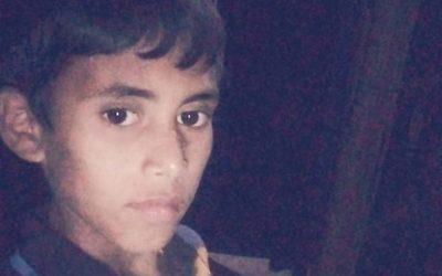 Mohammed Alom, age 12, missing