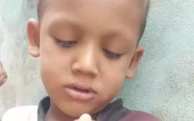 A young child was found in Modu chara Turkyi paar, block G2 missing