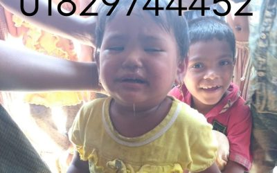 A child was found in Balukhali camp 5. Missing
