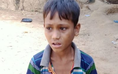 A young child was found in Kutupalong camp 7. missing