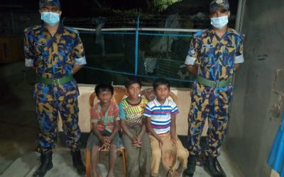 This three child were got in Kutupalong Lambasia camp 1 missing