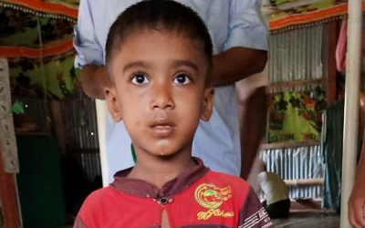 A child was found in Kutupalong camp 5 missing
