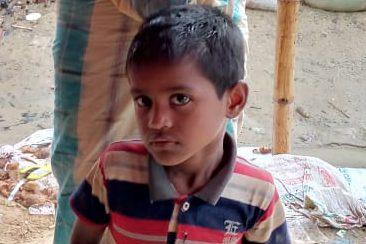 A child was found in Balukhali camp 18