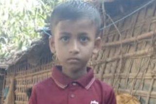 Mohammed Shahad, age 6 missing