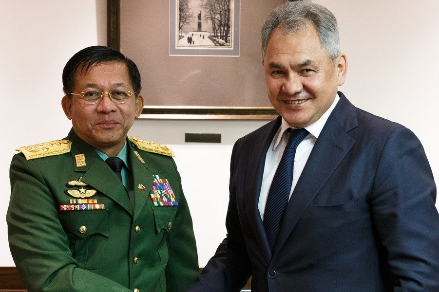 Myanmar General visits Moscow just after UN's resolution