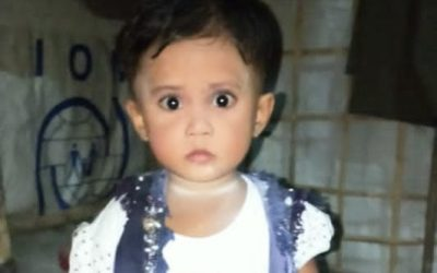 Sharmina Akter, age 3 missing