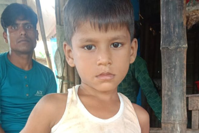 A child was found in Balukhali camp 17 missing