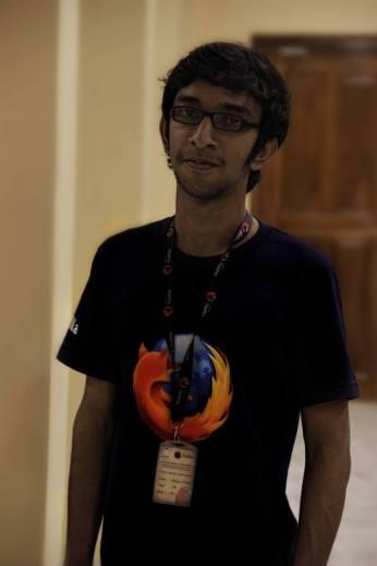 Shreyas Narayanan Kutty (Mozilla Representative, Community Manager at HasGeek}