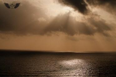 Sunset at Chaporafort, Goa