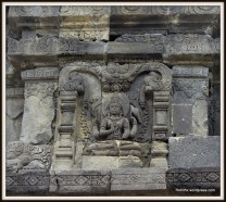 The figure of lokapalas, the celestial guardians of directions can be found in Shiva temple.