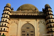 It is the largest dome ever built in India