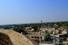 Top of the burz offers a 360degrees view of the city.