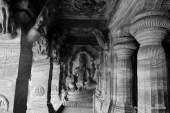 Vishnu sculpture in the Cave 3