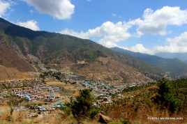 Thimphu city overview (2)