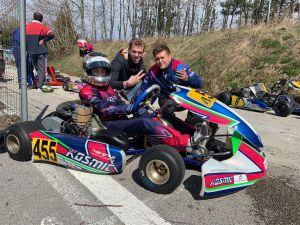 La Rohrbasser Driving School en action au karting de l'enclos