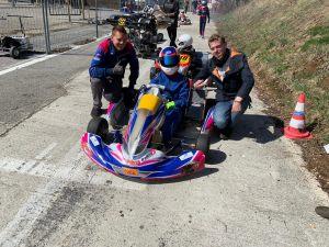 coaching karting au circuit de l'Enclos