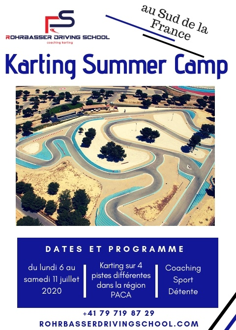 Camp de karting été 2020