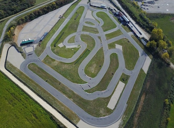 Piste de karting du Bugey à Château Gaillard