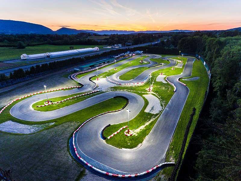 circuit karting de scientrier - mk circuit