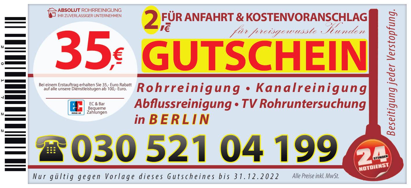 Abflussreinigung Berlin | Abflussverstopfung