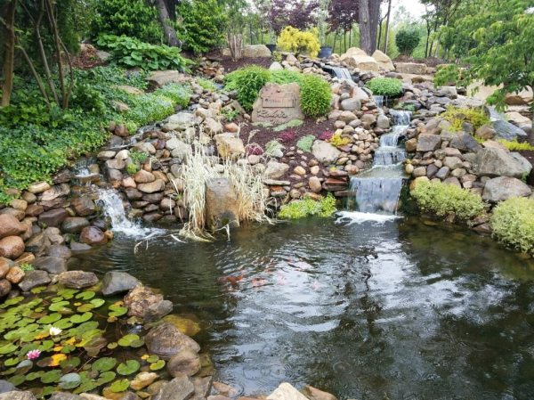 landscape water features & ponds