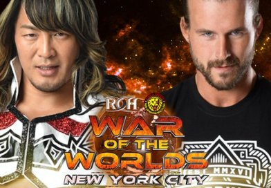War of the Worlds 2017 Tour: Updated Match Listings