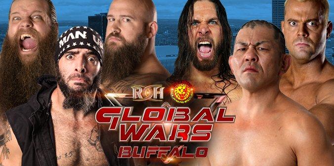 ROH 10/12/17 Global Wars 2017 Buffalo, NY Results