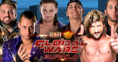 ROH 10/12/2017 Global Wars 2017 Buffalo Review