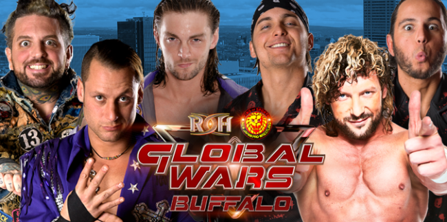 ROH 10/12/2017 Global Wars 2017 Buffalo Review