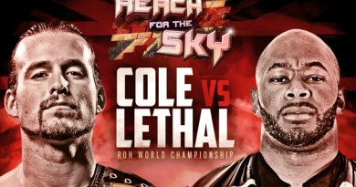 ROH 11/20/16 Reach for the Sky Tour London Review
