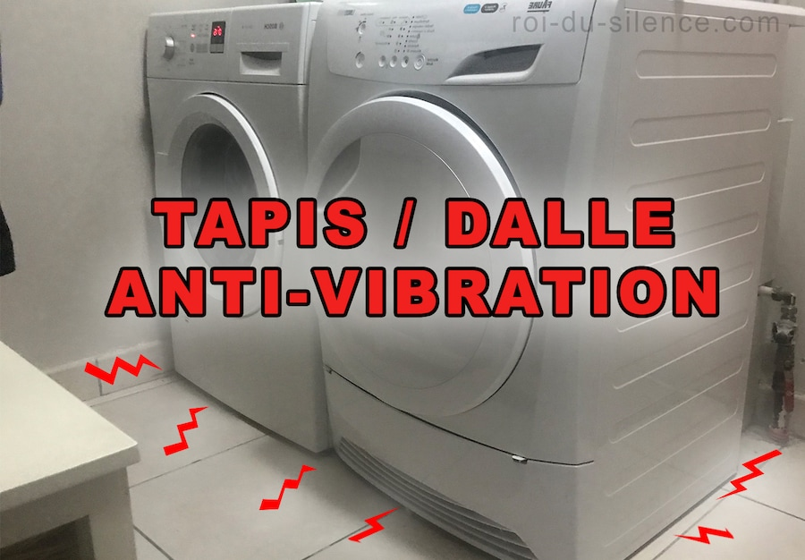 dalles anti vibration