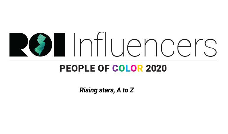 ROI Influencers: People of Color 2020 (Rising stars, A to