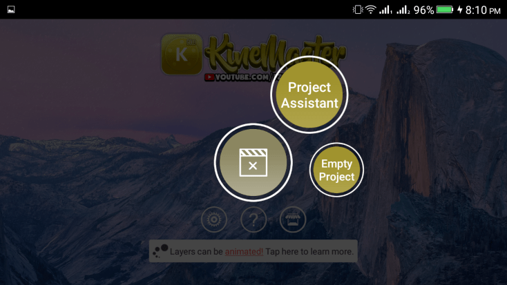 ScreenShot of KineMaster Gold