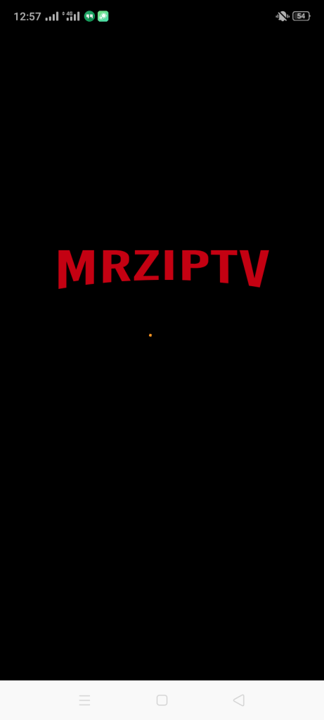 Screenshot of MRZ IPTV