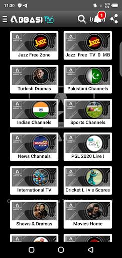 Screenshoot of Abbasi Tv Apk