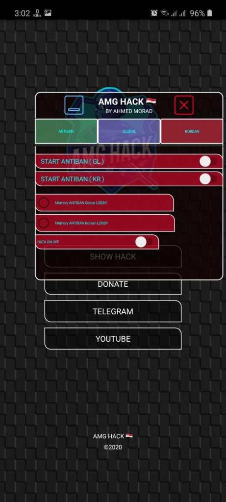 Screentshot of AMG No Root Apk