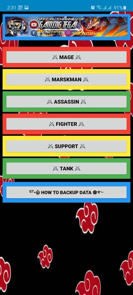 Screenshot of Gaming Tegal