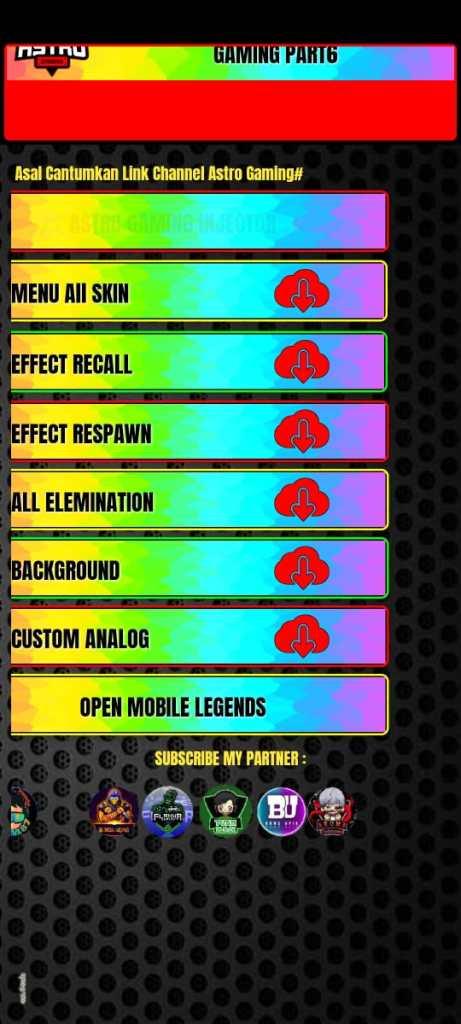Screenshot of Warna Warni Injector Apk