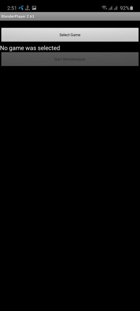 Screenshot of BlenderPlayer