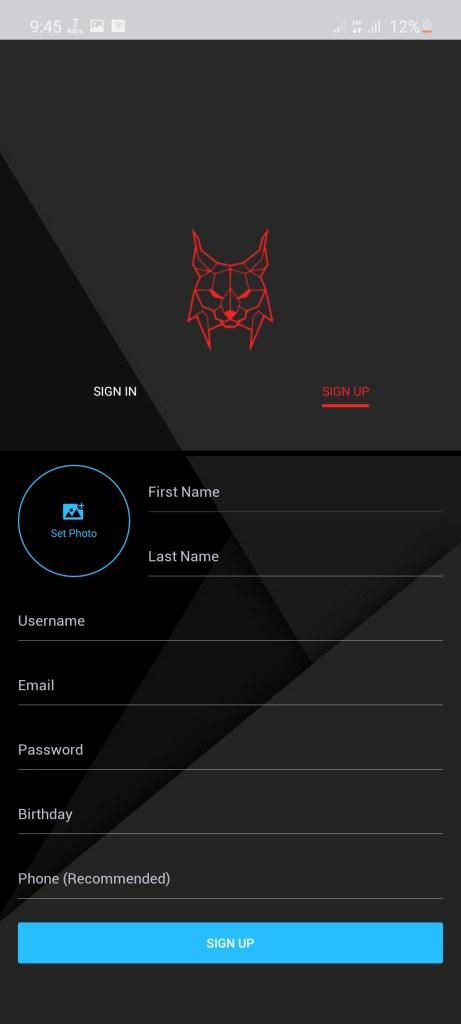 Screenshot of Lynx Remix Apk