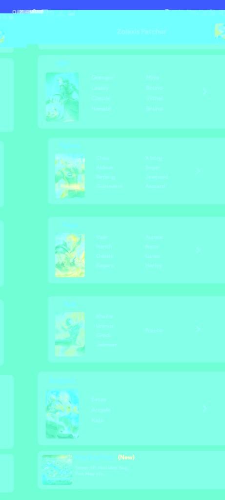 Screenshot of Zolaxis Patcher App