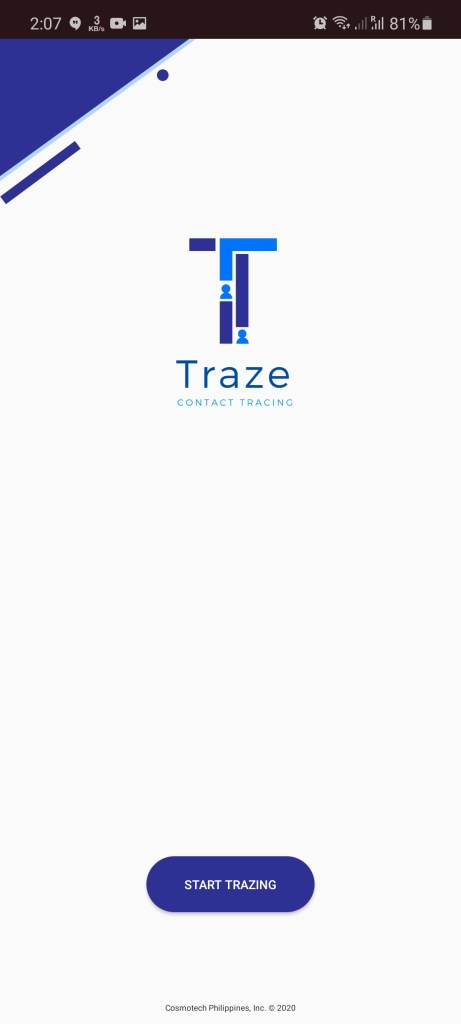Screenshot of Traze Apk