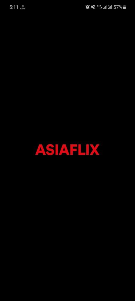 Screenshot of AsiaFlix