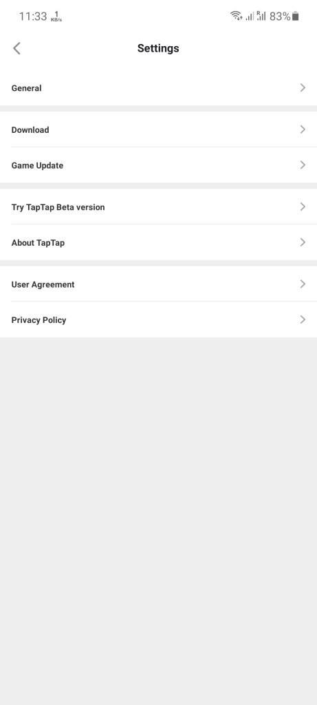 Screenshot of Tap Tap Global Indian PUBG